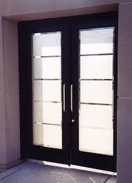 Frosted Glass Exterior Door Modern Glass Exterior Doors Centralazdining