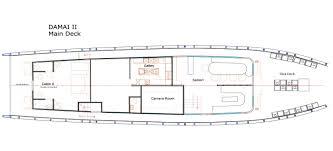 damai ii liveaboard in indonesia diviac boat layout boat layout boat layout