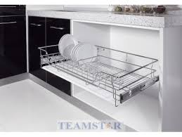 kitchen cabinets baskets pull out basket hauss furniture hardware furniture accessories