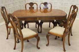Kissing Chairs Antiques Queen Anne Dining Table And Chairs Lakecountrykeys Com