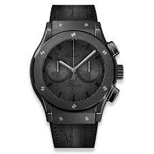 20 Classic Black And White Classic Fusion Chronograph Berluti Scritto All Black 45mm