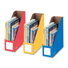 File Desk Organizer by Bankers Box 3381701 Bankers Box Primary Colors Magazine Files