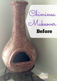 halloween chiminea chiminea makeover a beautiful inspiration
