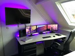 Gamer Computer Desk Image Gallery Of Gaming Station Computer Desk Huge 8 On Furniture
