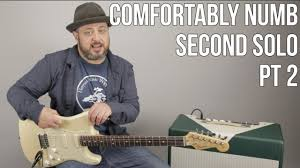 Led Zeppelin Comfortably Numb Comfortably Numb Second Solo Lesson Part 2 Pink Floyd David