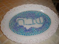 shabbat plate shabbat plate by josee abourbih festival and holidays