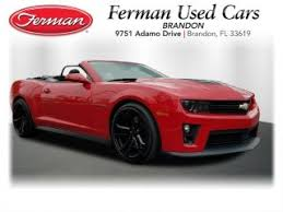 zl1 camaro for sale chevrolet camaro zl1 for sale in orlando fl and used
