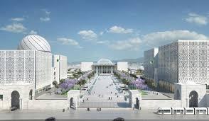 bureau architecture algerian parliament bureau architecture méditerranée apsaidal