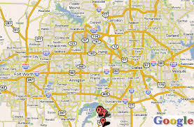 map of dallas fort worth dallas ft worth and arlington free hdtv channels and travel
