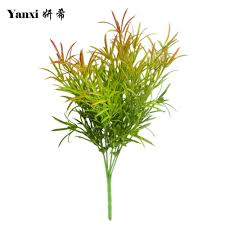 online shop artificial flower fake rosemary grass green plants for