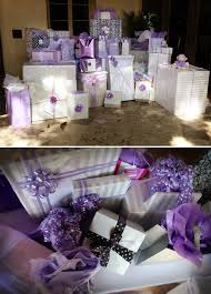 lavender black and white baby shower the celebration society