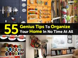 55 genius tips to organize your home in no time at all