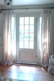 Side Window Curtains Front Doors Front Door Oval Window Treatments Front Door Side