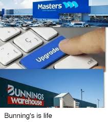 Warehouse Meme - masters home improvement warehouse bunning s is life meme on me me