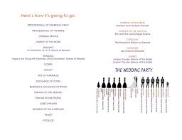 Wedding Program Templates Word Free Wedding Program Template In Word And Pdf Formats Page 2 Of 2