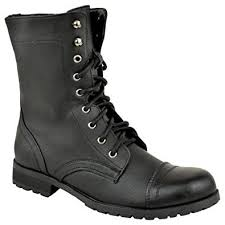 womens biker boots uk lace up combat ankle boots amazon co uk shoes bags
