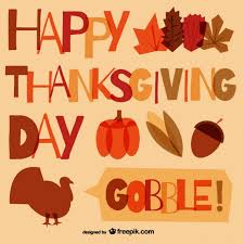 Free Happy Thanksgiving Image Happy Thanksgiving Typography Vector Free Download
