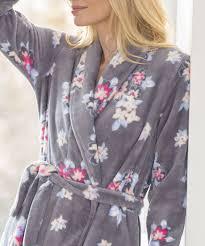 robe de chambre damart robe de chambre maille moelleuse imprimée ardoise imprime