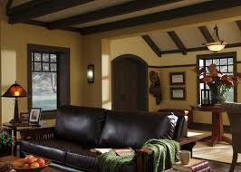 craftsman style home interior design a craftsman living room hgtv