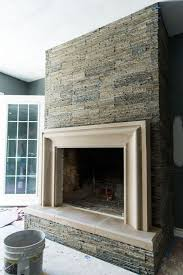modernizing an old fireplace a photo journey old world stoneworks