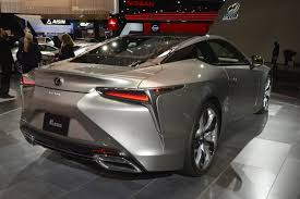 lexus lc f sport 2018 lexus lc 500 flies under the radar at naias