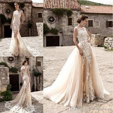 wedding dress with detachable mermaid wedding dresses mermaid wedding dresses with