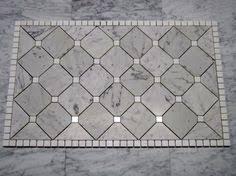 Tile Medallions For Kitchen Backsplash by Tervertine Granite Mosaic Medallion Tile For Kitchen Backsplash