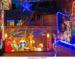 christmas lights house lancashire stock photos u0026 christmas lights