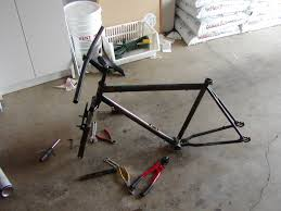 repainting a bicycle 6 steps with pictures