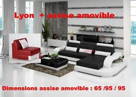 assise canapé canapé d angle cuir lyon avec assise amovible