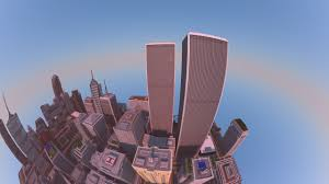 Minecraft Usa Map minecraft player spent two years building this incredible city