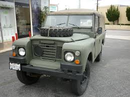 land rover british 1973 land rover series 3 ex british military outstanding