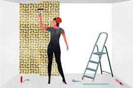 press on wallpaper how to hang non woven wallpaper wallpapering instructions
