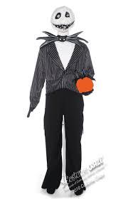 Soul Taker Halloween Costume Mens Deluxe Scary Jack Skellington Costume Costume Craze