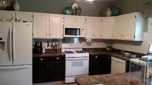custom mixed gel stained kitchen cabinets general finishes