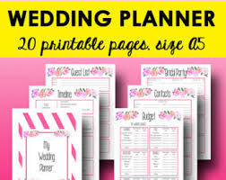 downloadable wedding planner ultimate wedding planner printable template wedding planning