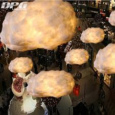 modern led postmodern ideas floating clouds light fixtures bar