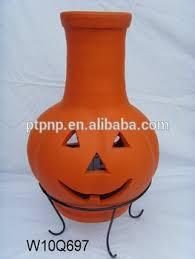 Red Clay Chiminea Pumpkin Halloween Clay Chimineas Buy Clay Chimeneas Fire Pot