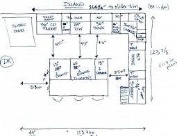 Kitchen Island Heights Kitchen Island Sizes U2013 Fitbooster Me