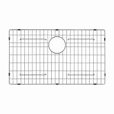 Kitchen Sink Protector Grid Kraus 30 In X 16 In Bottom Sink Grid In Stainless Steel Kbg 200
