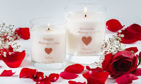 personalized candle personalized candles custom wick groupon