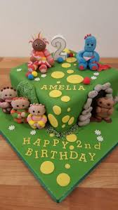 in the night garden cake from dolly train event and celebration