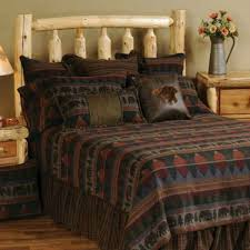 shop wooded river cabin bedspread sets the home decorating