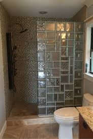 bathroom wall design 5 unique glass block shower designs in california ohio