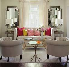 Living Room Seating Arrangement by Pink Pillows Yellow Pillows Living Room Seating Area Couch