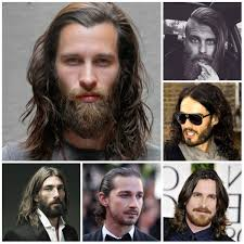 men u0027s long hairstyles with beards for 2016 men u0027s hairstyles and