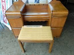 classy art deco vanity benches for inspire