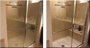 Water Stains On Glass Shower Doors Restoration Shower Doors In 3 Days
