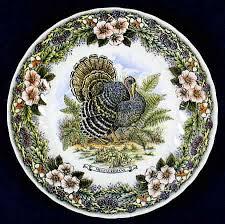 thanksgiving dinnerware patterns wildlife series churchill turkey