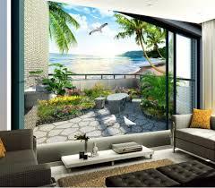 online get cheap balcony garden mural aliexpress com alibaba group